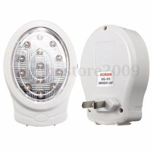 13 LED Rechargeable Home Emergency Automatic Power Failure Outage Light Lamp