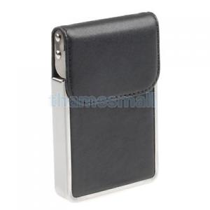 Leather Business Credit Name ID Card Holder Case Wallet