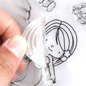 Transparent Clearn Stamp DIY Scrapbooking/Card Making/Photo Album Decor GS