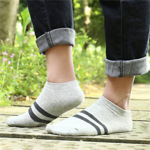 Alcoa Prime 4Pcs/Pack Men Ankle Sock Crew Casual Sport Breathable Running Cozy Cotton Socks~