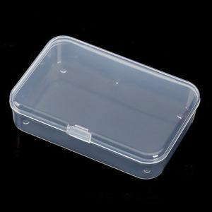 1X Plastic Storage Box Playing Cards Case Business Card Holder Card Boxes Mini