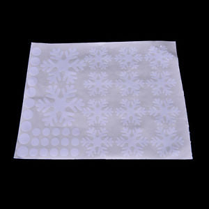 Alcoa Prime Christmas Window Snow Flake Stickers Xmas Winter Decorations