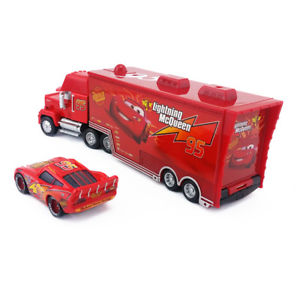 Alcoa Prime Disney Pixar Car No.95 Mack Racer's Truck & Radiator Springs McQueen Toy Car