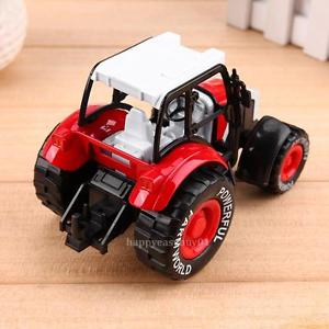 1:32 Alloy Car Tractor Model Toy Vehicle Truck Children Kids Birthday Gift Red