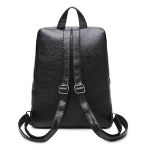 Sport Women Backpack Travel Leather Handbag Rucksack Shoulder School Book Bags