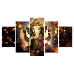 Alcoa Prime Decorative Canvas Prints Wall Hanging Artwork Painting Picture Elephant-L