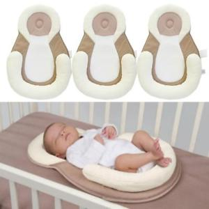 Newborn Baby Safety White Soft Sassy Sleep Pad Infant Pillow Sleeping Mat Kit