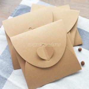 10pcs Handmade CD envelope fit for Birthday Party Greeting Xmas Thanksgiving CD