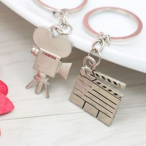 Clapperboards Souvenirs Camera Key Rings Key Chain Purse Ornament Accessories