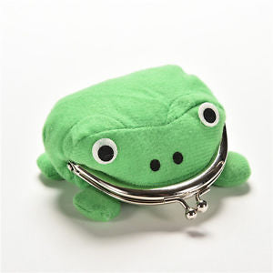 Precision Cool Personality Naruto Frog Wallet Green Coin Purse Wallet