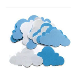 Wall Stickers Children's Day Modern Kids Crafting DIY Decoration Clouds