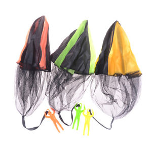 Hand Throwing Kids Mini Play Soldier Parachute Toy Children's Educational Toys @