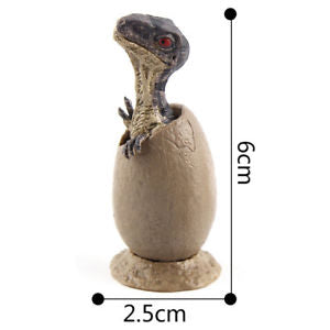 Alcoa Prime 3PCS Magic Dino Egg Growing Hatching Dinosaur Model Child Kid Toy New
