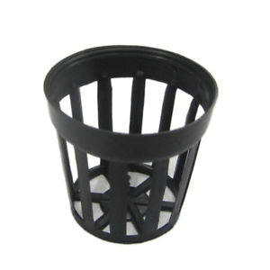 10 Pcs Plastic Flower Pot Baskets Aquarium Aquatic Water Plant Cultivate S Size