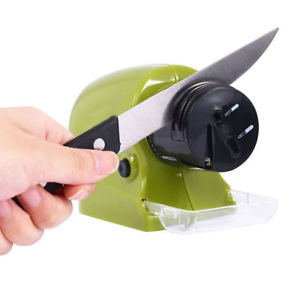 Alcoa Prime Speedy Electric Sharpener Sharp Swifty Kitchen Razor Blades Motorised Blade Tool