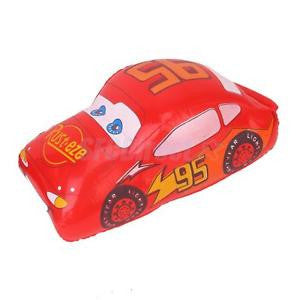 Alcoa Prime Red Inflatable Car Blow Up Vehicle Kids Beach Swimming Pool Party Favour Toy