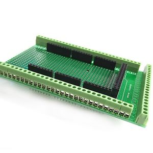 Alcoa Prime MEGA-2560 R3 Prototype Screw Terminal Block Shield Board Kit For Arduino