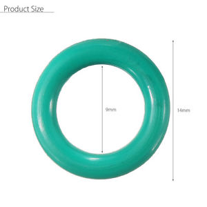 1x Green Temperature Resistant Silicon O-rings For Tig WP-17/18/26 Welding Torch