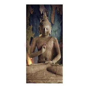 Alcoa Prime DIY Canvas Modern Deco Wall Painting Stone Buddha No Framed Picture 60x120cm