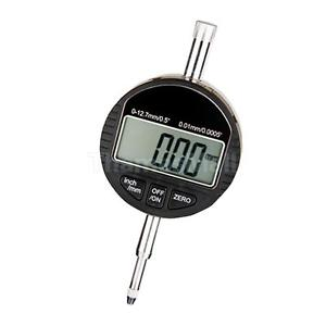 "Digital LCD Indicator 0-12.7mm/1inch 0.01mm/0.0005"" Precision Micrometer"
