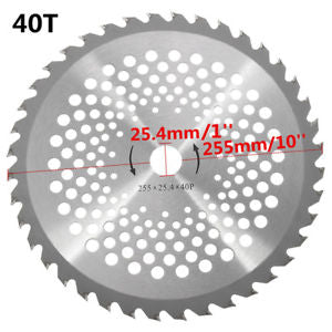 40Tooth Steel Brush Cutter Carbide Blade Fit For Petrol Brush Cutter Strimmer