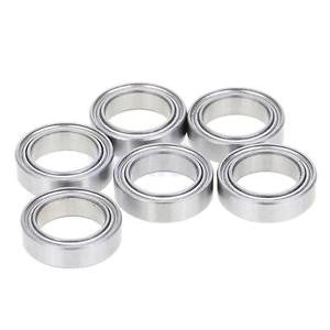Alcoa Prime 6Piece Steel Inner Diameter 10mm 02138 Ball Bearing Upgrade Part for 1/10HSP