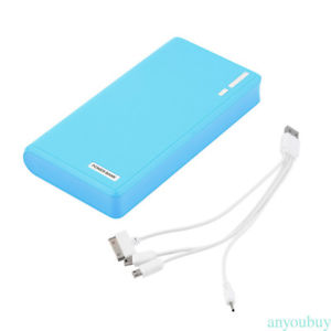 50000mAh Power Bank Dual USB Wallet External Battery Charger for Cell Phone New