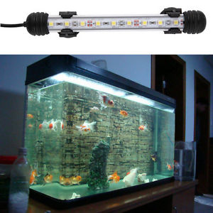 Waterproof Underwater Aquarium Fish Tank LED Light Bulb Lamp Tube 18CM GD GD