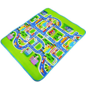 Baby Crawling Blanket Carpet Rug Newborn Children Play Mat Traffic Road Gracious