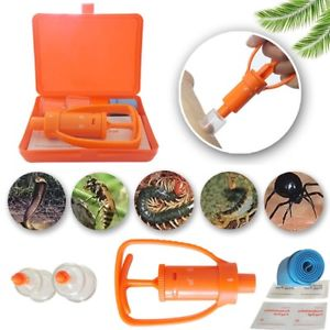 Venom Extractor Pump First Aid Safety Tool Kit Emergency Snake Bite Survival US