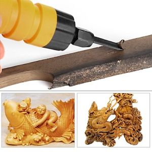 Electric Chisel Carving Tool Wood Carving Machine Woodworking Small Spanner EK