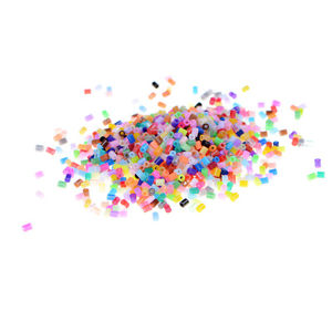 "1000pcs/Set DIY 2.6mm Mixed Colours HAMA/PERLER Beads for GREAT Kids Fun Craft""B"
