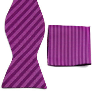 Alcoa Prime GT055 MENS PLAIN Self Tie Bow Tie Men's Self-Tie silk bow tie Bowtie Untied Pro