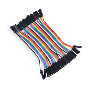40pc Dupont 10CM 1p-1p female to Female Jumper Wire Ribbon Cable for Arduino M0Q