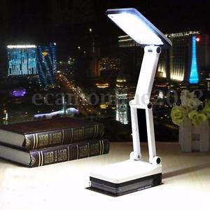 Alcoa Prime Eye Protection 17-LED Light Fordable Rechargeable Desk Table Study Reading Lamp
