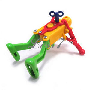 New Clockwork Spring Multi-color Wind-up Dancing Walking Robot Kid Children Fun