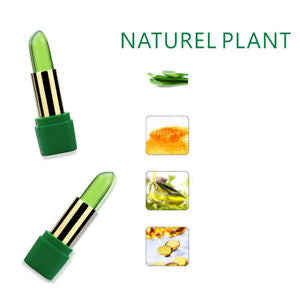 Alcoa Prime Aloe Vera Long Lasting Color Changing Moisturizing Lipstick Makeup Tool Natural
