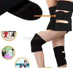 1 Pair Self Heating Therapy Magnetic Knee Brace Support Strap Pain Protect hv2n