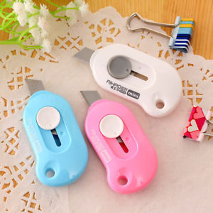 Mini Portable Knife Paper Cutter Wrapping Tape Cutting Envelope Letter Opener