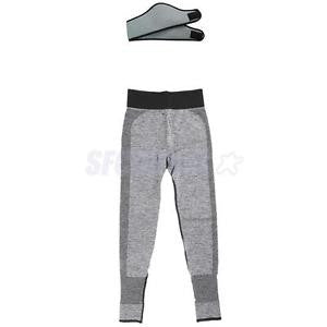 Alcoa Prime 2 Pieces Sports Gym Workout Fitness Yoga Leggings Pants Headband, Size L