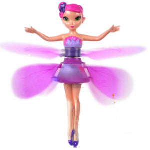 Lovely Flying Fairy Magic Infrared Induction Control Princess Doll Birthday Gift