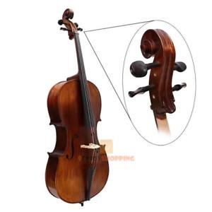 4pcs 4/4-3/4 Wooden Cello Tuning Accessory Cello Peg Musical Instruments Tool