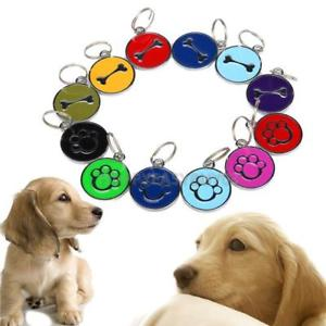 Anti-Lost Personal Pet ID Tag Dog Tags Stainless Steel Pet Tags r#H3