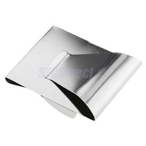 Alcoa Prime Metal Money Clip Business Card Credit Card Cash Wallet Paper Clips Silver