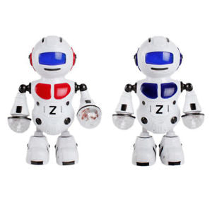 Electronic Walking Dancing Music Light Astronaut Robot Kids Funny Toy Gift Grace