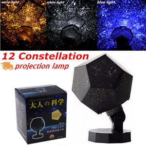 Christmas Astro Star Sky Laser Projector Cosmos Night Light Lamp Gift Home Decor