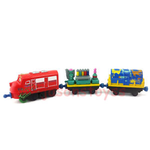 Alcoa Prime Tomy Tomica Chuggington Wilson & The Palnt Wagon Diecast Toy Train New In Stock
