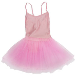 Alcoa Prime Girl Ballet Dance Dress Gymnastic Leotard Straps Tutu 7-8 Yrs (Pink) A9I5