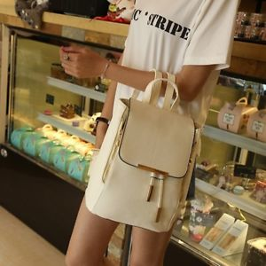 Women's Small Tote Backpack Satchel Shoulder Rucksack Mini Bag Travel PU Leather