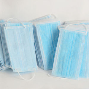 Disposable 50 Pcs Dental Medical Surgical Dust Ear Loop Face Mouth Masks